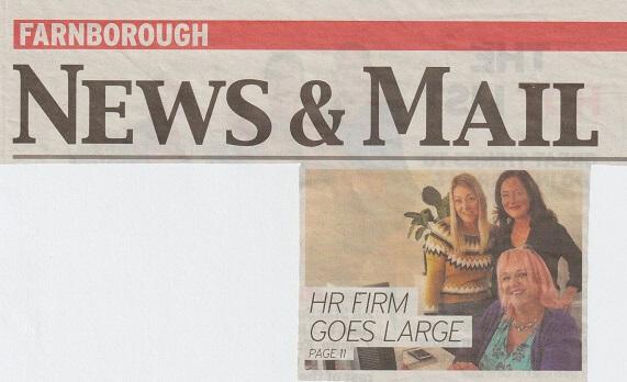 vivoHR Press Coverage – Farnborough News & Mail